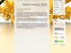 Digital Matters