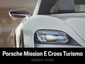 Porsche Mission E Cross Tourismo