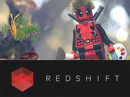 Redshift Benchmark Scene