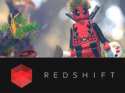 Redshift Benchmark Scene